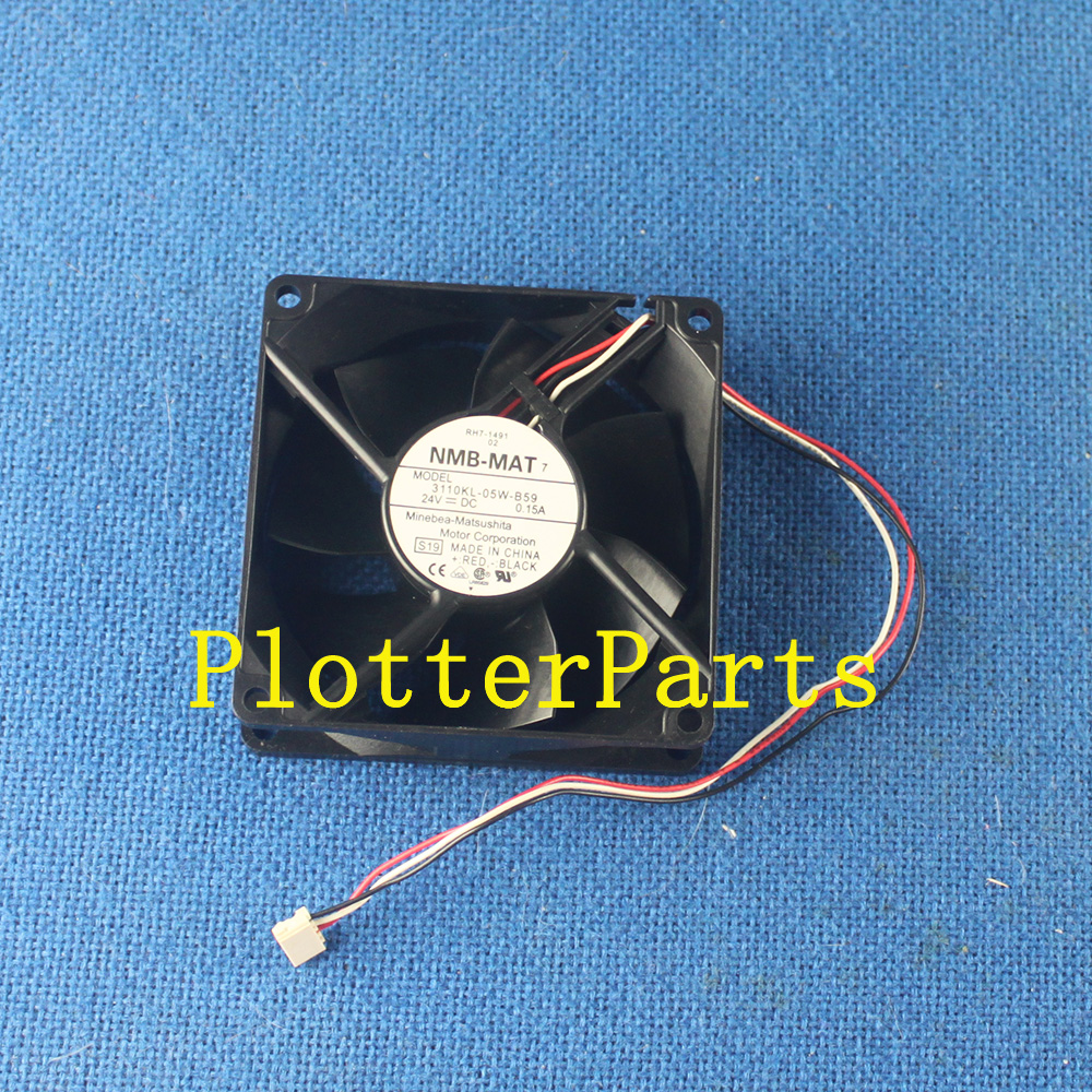 RH7-1491-000CN <font><b>Cartridge</b></font> fan for <font><b>HP</b></font> Color LaserJet 4600 4650 <font><b>5550</b></font> 4600DTN Used printer parts image