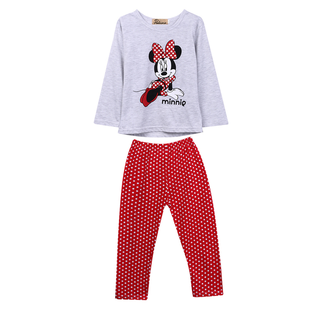 572ceee5bb7b Aliexpress.com   Buy 2019 Toddler Infant Kids Baby Girls Cute Mickey ...