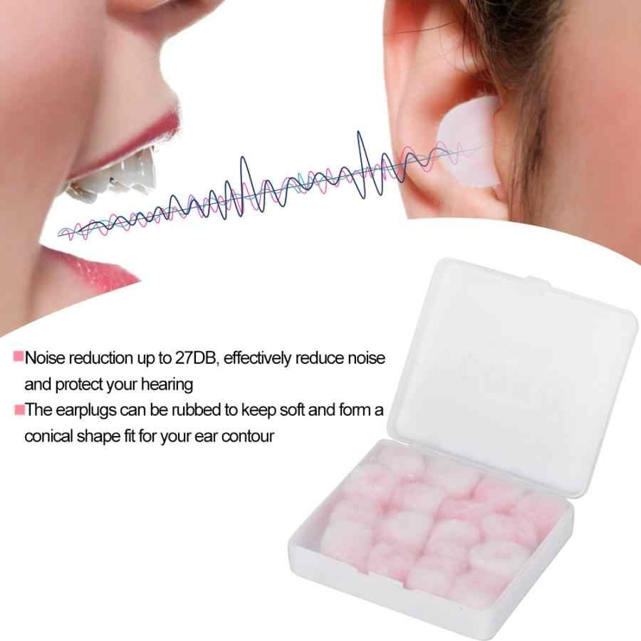 Cire coton réduction du bruit étanche bouchons d'oreilles Adault enfant Protection auditive bouchons d'oreille offre spéciale