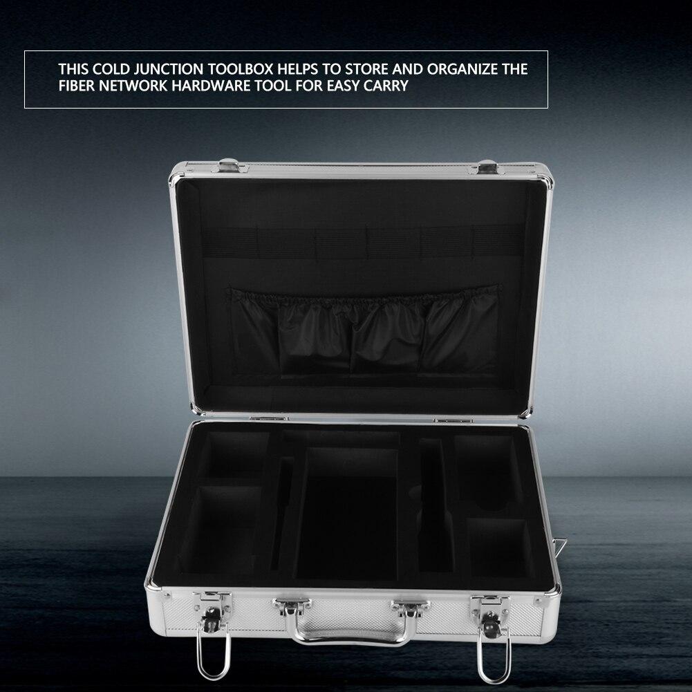 100% Wahr Ftth Kalt Junction Toolbox Faser Netzwerk Hardware-tool Box Splitter Kalten Junction Toolbox Werkzeug Fall
