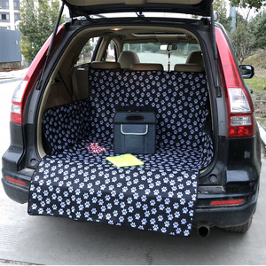 Image 2 - Longer Car Anti dirty Pad Automobile Trunk Mat O SHI CAR Dog Cat Waterproof Wear Cushion Mat