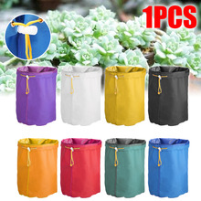1pc Gallon Filter Bag Plant Grow Bags Bubble Herbal Ice Extractor Pressing with Mesh Screen