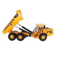 Transport Carrier Truck Vehicle Die cast Engineering Car Model Educational Toys Birthday Gift for Children Kids Toddler