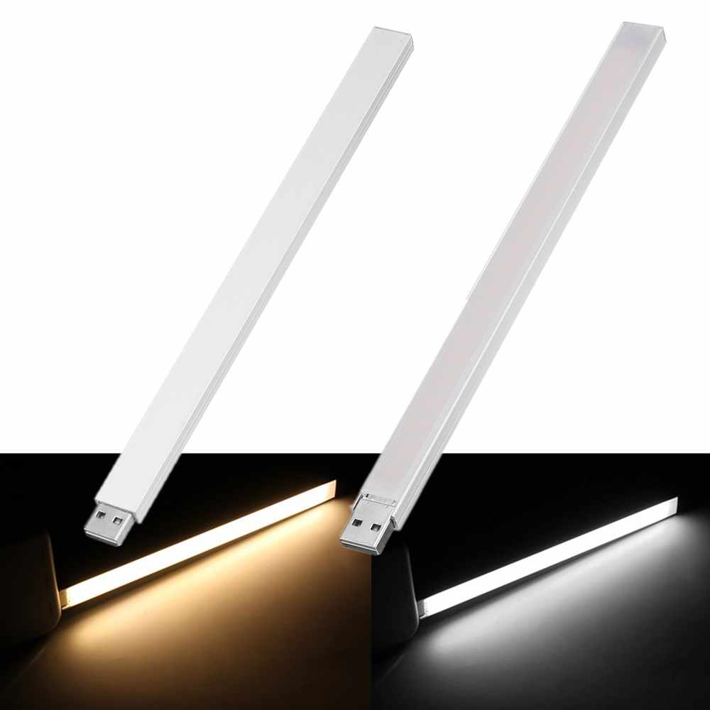 CLAITE 21 CENTIMETRI 21 LED Rigida Luce di Striscia 4.5 W USB SMD5730 T-ouch Interruttore Stepless Dimming HA CONDOTTO LA Barra luce per il Calcolatore Del PC DC5V