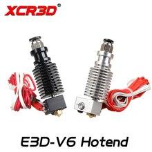 E3D V6 Hotend XCR3D 3D-принтеры компоненты экструдера 0,4/1,75 мм J-head пультом дистанционного управления 12 V 24 V