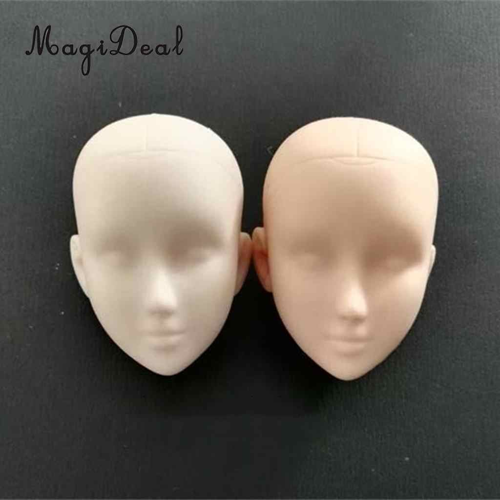 Vinyl Female Figure Doll Heads Parts for 1//6 Action Figure Doll Supplies