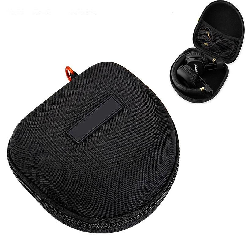 Headphone Bag Earphone Case EVA Hard Shell Carrying Practical Durable Headphones Box Case /Headset Travel Bag Headphone Cover