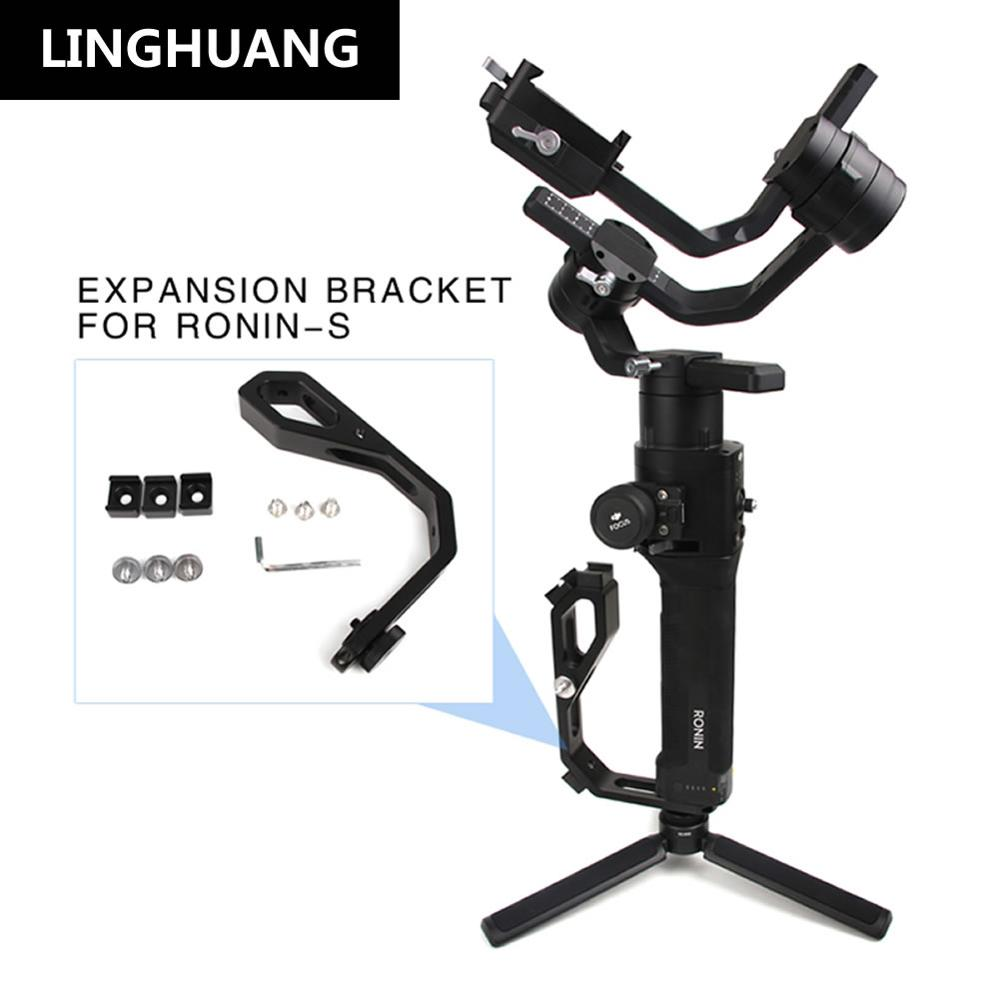 DJI Ronin-S Moniteur L en forme de Support D'extension Remplir Lumière Microphone Étendre Bras Accessoires
