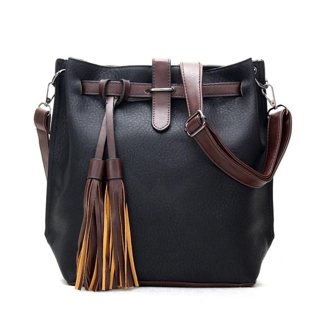 4ea00c65a8 fashion Leather Bags Handbags Women Big Women Crossbody Bag Trunk New Tote  Designer Shoulder Bag Ladies Bolsos Mujer Hand bags
