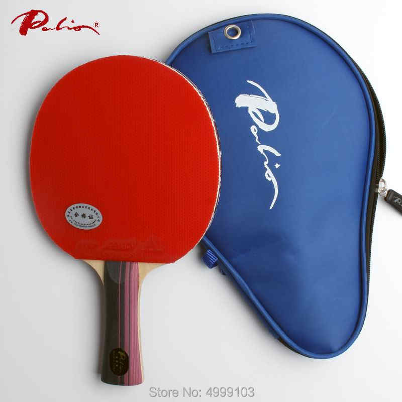 Original Palio 3 stars table tennis racket finished racket ping pong racket fast attack with loop racquet sports