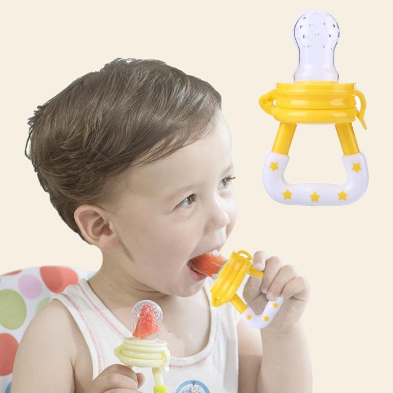 Fresh Food Baby Pacifiers Feeder Kids Fruit Feeder Nipples Feeding Safe Baby Supplies Nipple Teat Pacifier Bottles Feeding Tool