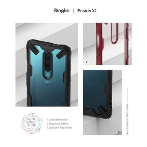 Image 5 - Ringke フュージョン × oneplus 7 プロケースデュアルレイヤー Pc クリアバックカバーとソフト TPU フレームハイブリッドヘビーデューティドロップ保護