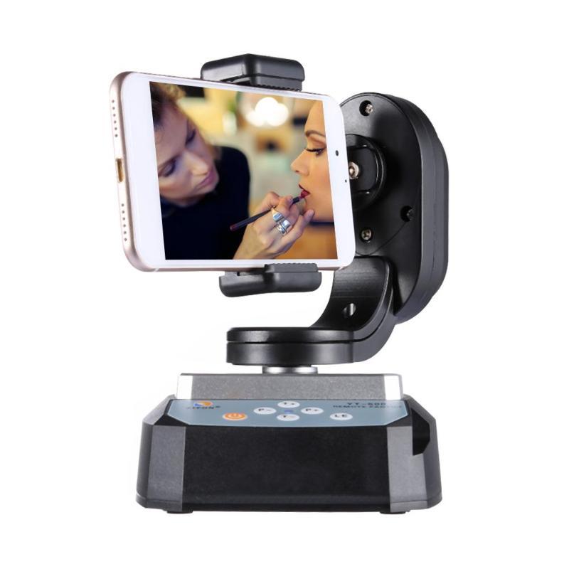 Réglable Vertical YT-500 Motorisé Télécommande Pan Tilt Trépied Mount Adapter pour Extrême Caméra Wifi Caméra et Smartphone
