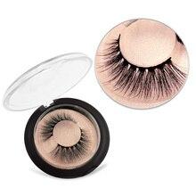 SHIDISHANGPIN natural thick mink lashes 1 pair cruelty free makeup long 3d eyelashes extension 10mm cilios
