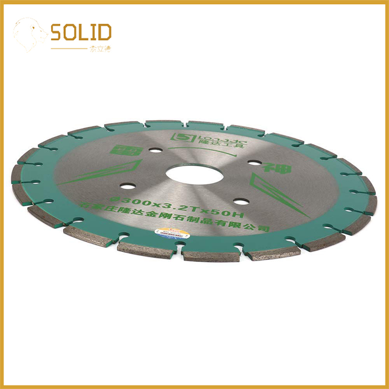 12 Inch Dry Or Wet Cutting Disc Circular  Segmented Diamond Saw Blades For Concrete Stone Brick Masonry