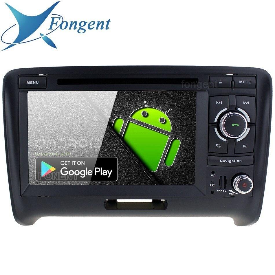 IPS Android 9.0 unité pour Audi TT 2006 2007 2008 2009 2010 2011 2012 2013 véhicule GPS navigateur lecteur multimédia DVD stéréo automatique