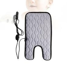 Winter Car Seat Warmer Heated Car Seat Cushion Temperature Control Heated Car Seat Pad Cover Auto Car Accessories Size S 12v universal car heated seat cover heating car seats cushion heater pad winter auto warmer with cigarette lighter covers