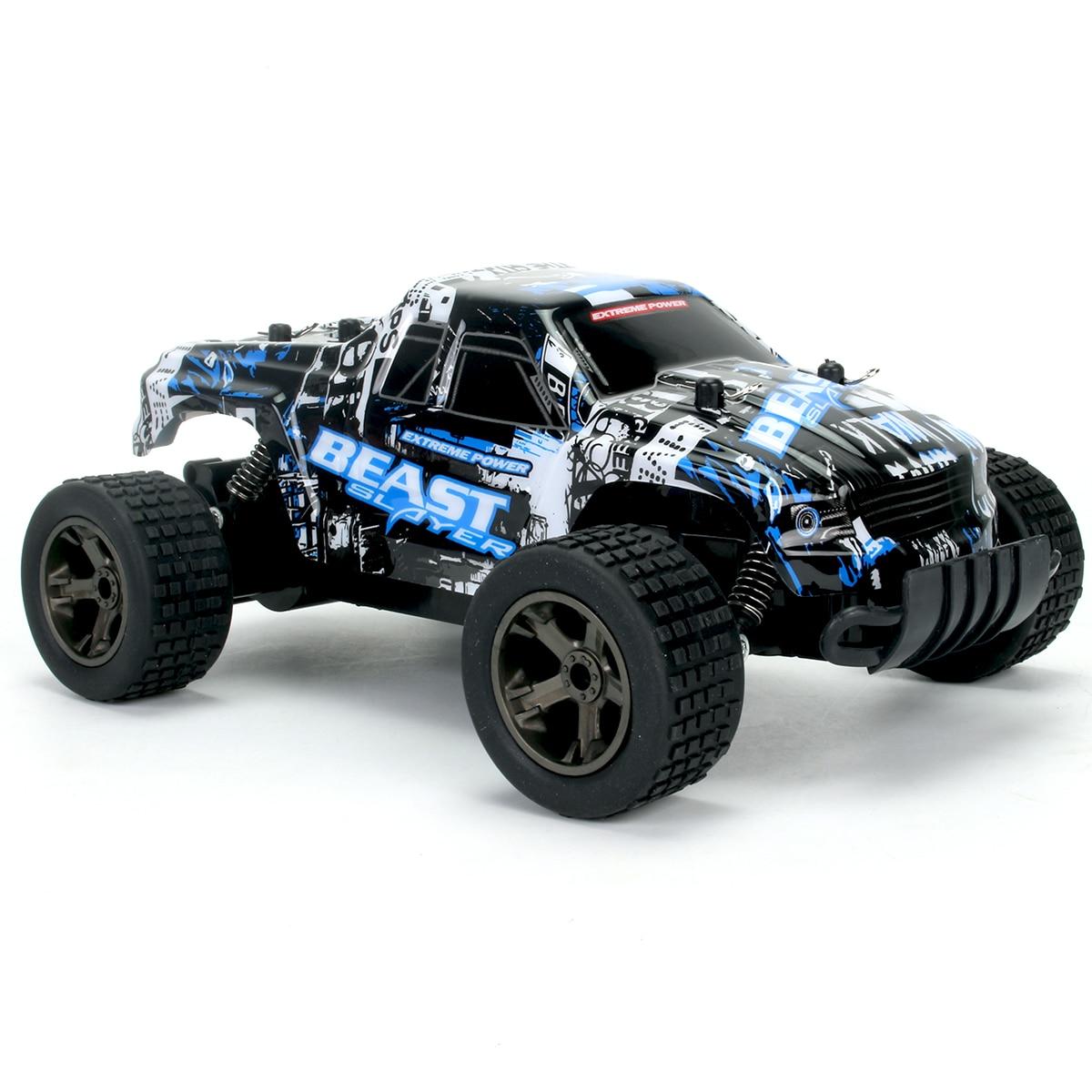 Nuevo coche RC 2811 2,4G 20 KM/H de alta velocidad coche de carreras escalada coche a Control remoto RC coche eléctrico fuera de carretera camión 1:20 RC