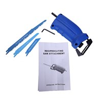 THGS Power tool accessories Reciprocating saw Metal Cutting wood Cutting Tool electric drill attachment with 3 blades