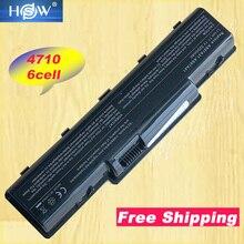 HSW 6 celdas de batería del ordenador portátil para Acer Aspire 4710 4720 5335Z 5338, 5536, 5542, 5542G 5734Z para Aspire 4310 de la serie 4530 de 4520G