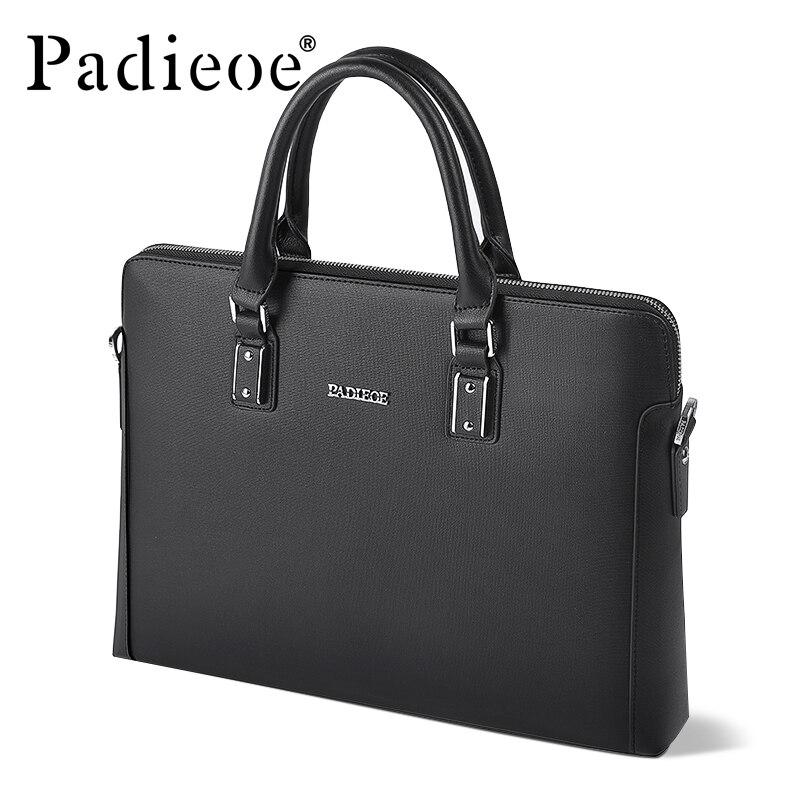 Padieoe men bag briefcase  computer bag messenger handbag  jobs waterproof  canvasPadieoe men bag briefcase  computer bag messenger handbag  jobs waterproof  canvas