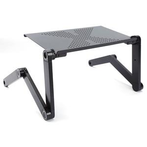 Image 5 - 360 องศาปรับแล็ปท็อปโต๊ะคอมพิวเตอร์พับโต๊ะถาดเตียงแผ่นผู้ถือ