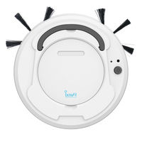 1800Pa robot vacuum cleaner Multifunctional Smart Floor Cleaner,3 In 1 Auto Rechargeable Dry Wet Sweeping cleaner