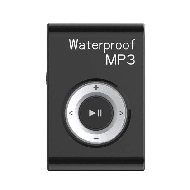 4 GB/8 GB Mini IPx8 étanche natation lecteur MP3 sport course équitation HiFi stéréo musique MP3 baladeur avec Clip Radio FM