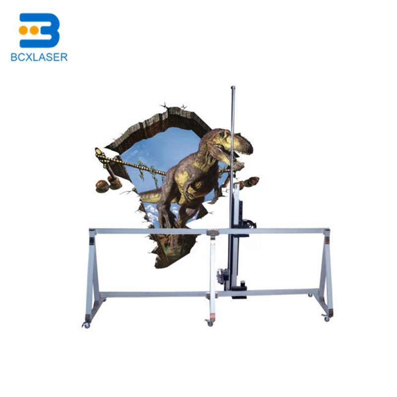 Printing Machine 3D PaBCXr Wall Inkjet Horizontal Wall Printer Equipment