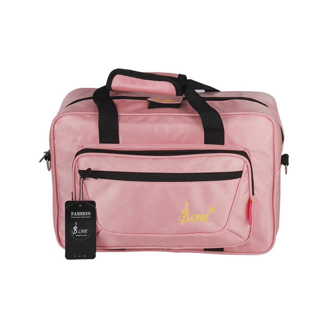 New Oboe Musical Instrument Portable Storage Black, Blue, Gray, Pink, Red Zipper Bag Handbag