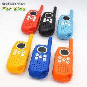 Image 1 - 2PCS מכשיר קשר לילדים ילדים צעצוע דו דרך רדיו ארוך טווח כף יד ילדים צעצוע ווקי טוקי לילדים