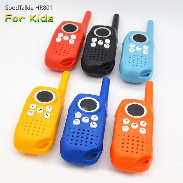 2PCS מכשיר קשר לילדים ילדים צעצוע דו דרך רדיו ארוך טווח כף יד ילדים צעצוע ווקי טוקי לילדים