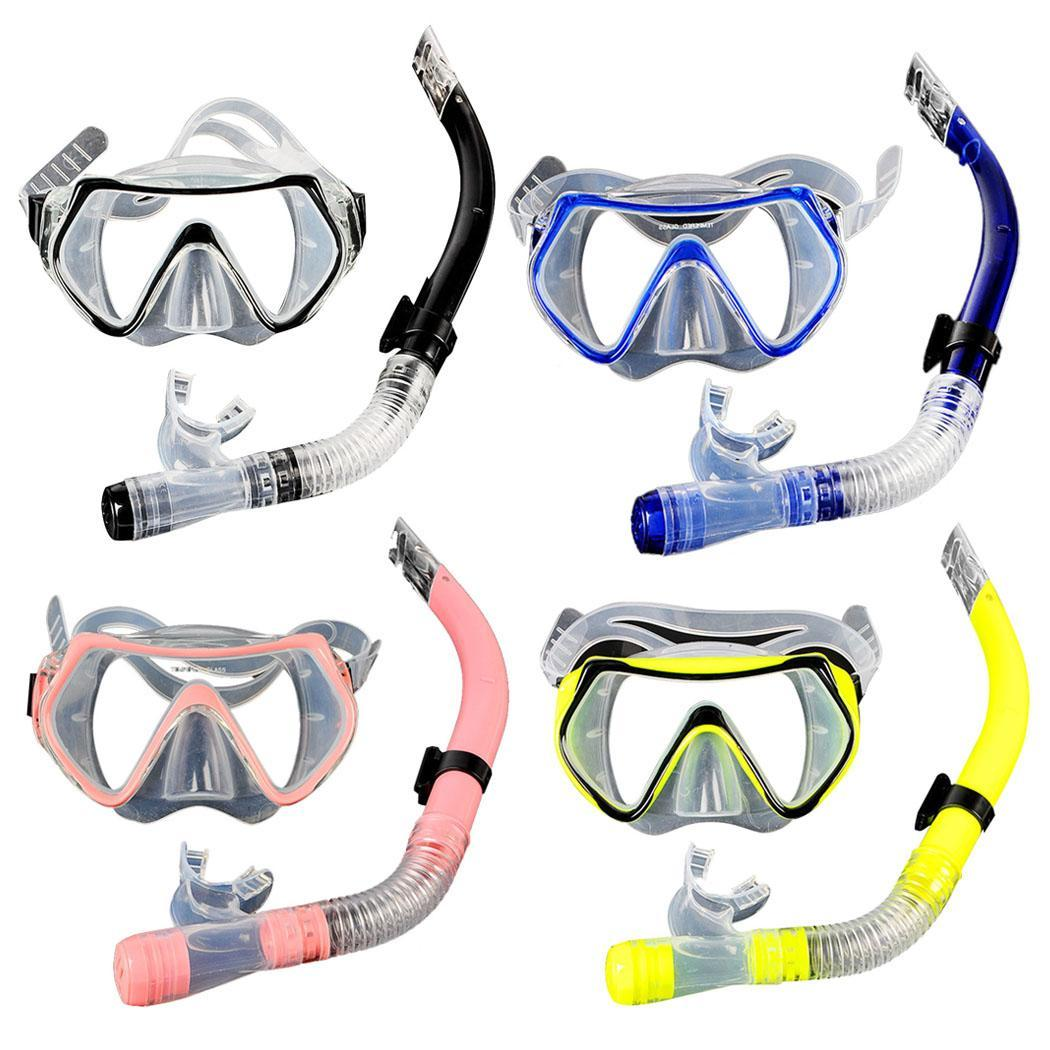 Professional swimming mask diving mask scuba diving snorkel Scuba Diving Mask and Snorkels Anti-Fog Goggles Glasses Diving Swim