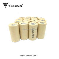 DIY to 9.6V 12V 14.4V 18V 24V Power Tool Electrical Batteries Packs Subc Cell Ni-MH Rechargeable Really 1.2V SC 2500mAh Battery