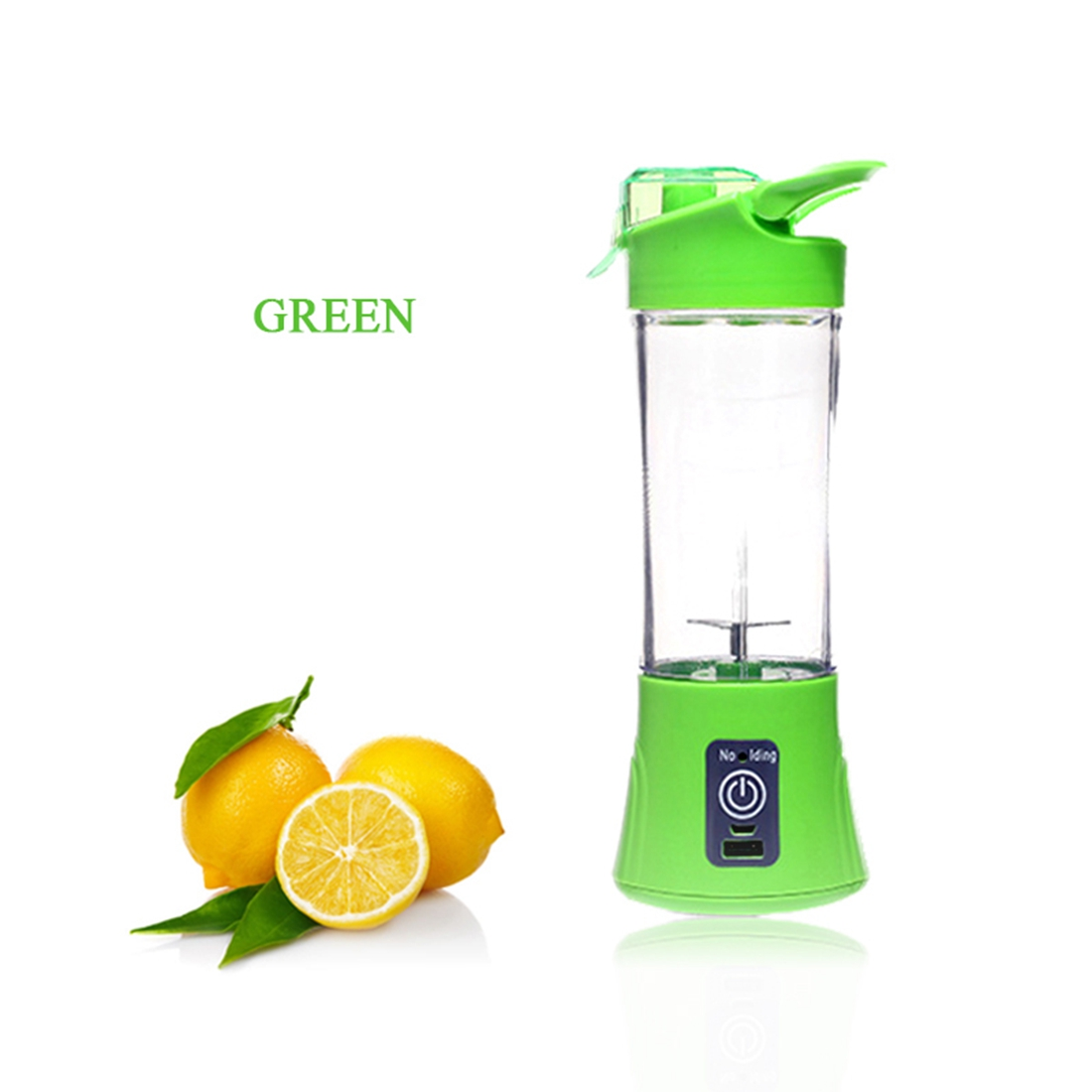 New Green Fashion Rechargeable Juicer Multi-function Electric Juice Cup Home Portable Juice Cup Mini Fruit Juicer