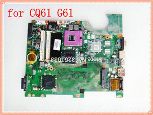 Image 1 - 577997 001 DA00P6MB6D0 for HP G61 CQ61 motherboard DDR2 motherboard Compaq Presario CQ61 Notebook PC free shipping