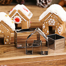3 pieces. a set of cutlery 3ds house mould diy cake mold the tools