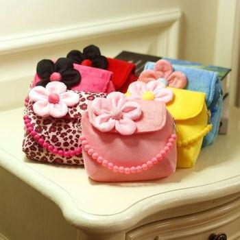 Girls 3D Flower Mini Shoulder Bag