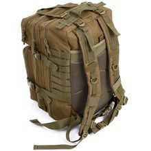 34L Tactical Assault Pack Backpack Army Molle Waterproof Bug Out Bag Small Rucksack for Outdoor Hiking Camping Hunting(Khaki) цена 2017