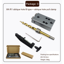 Woodworking Pocket Hole Jig Accessories with 9.5mm 3/8