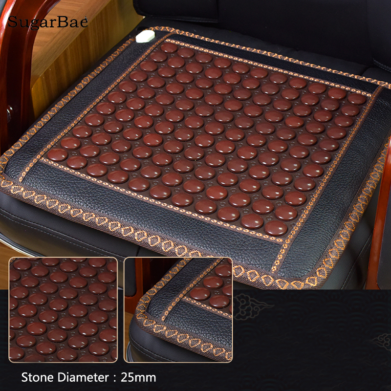 Hot Sale Jade Physical Therapy Cushion Germanium Seat Mat Tourmaline Health Heated Sofa Electric Heat Mats Health Care Mat health care heating jade cushion natural tourmaline mat physical therapy mat heated jade mattress high quality made in china page 8
