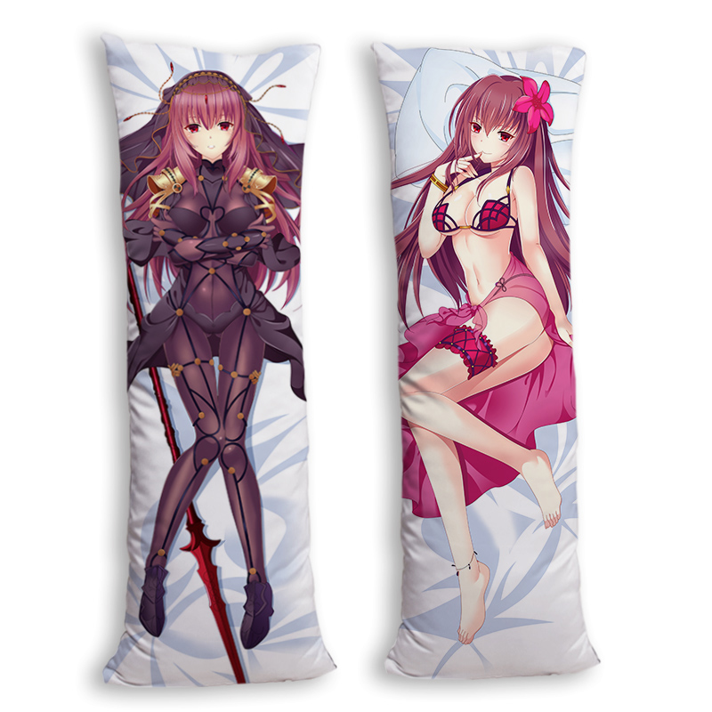Two Fabric Choosing Body Long Pillow Case Cover