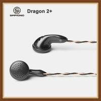Simphonio Dragon 2+ (SW D2+) Dynamic Driver DD HiFi Music Monitor DJ Studio Flat Head Earphone with 6N OFC Cable 3.5mm 2.5mm