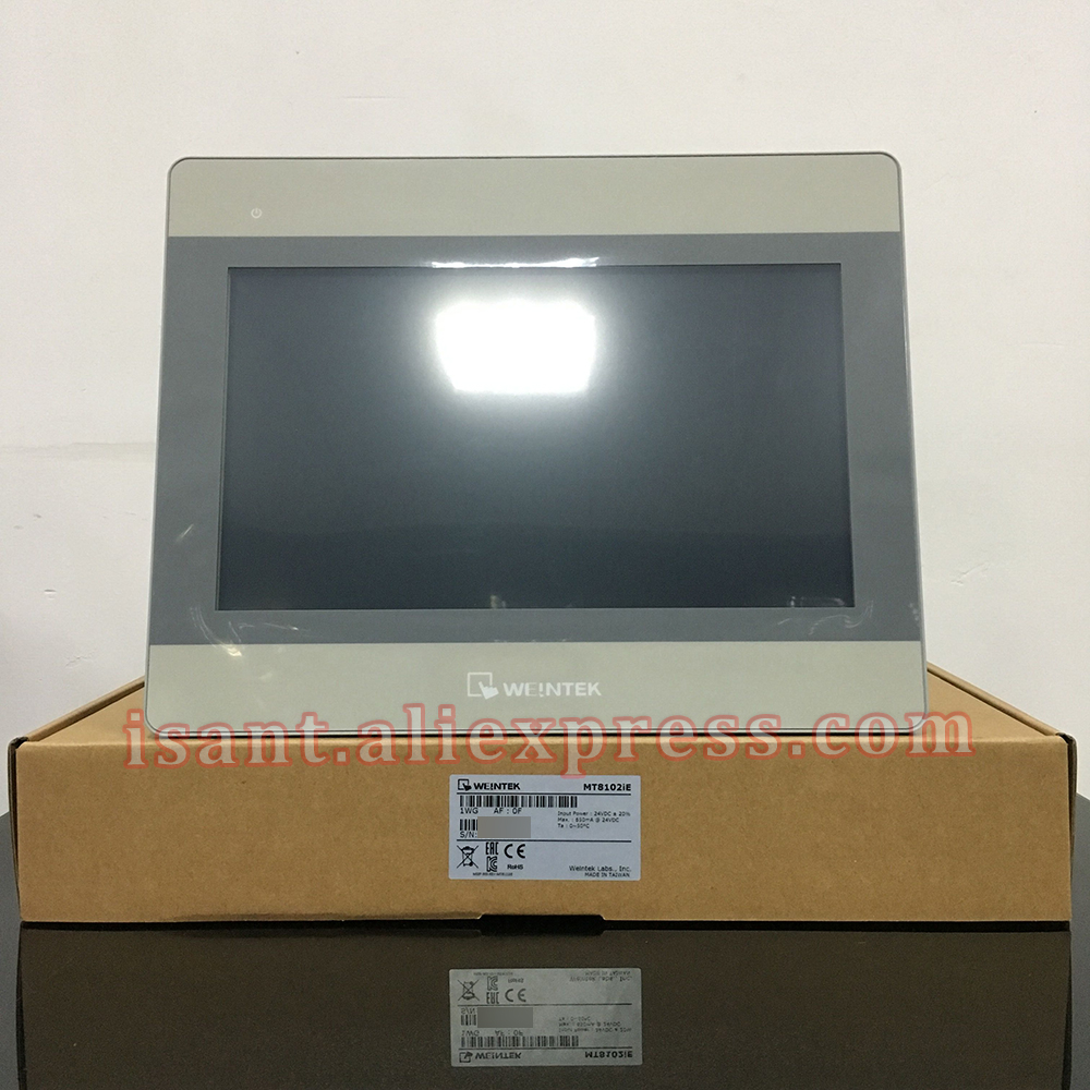 MT8102IE 10 1 WEINTEK WEINVIEW HMI 10 1 Inch Touch Panel Supports Ethernet Replace MT8101iE MT8100iE