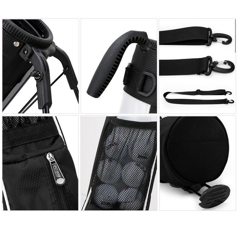 2019 nouveau sac de Golf Portable sac de soutien de Golf Super léger et grande capacité sac de pistolet sac de Golf grande capacité étanche - 5