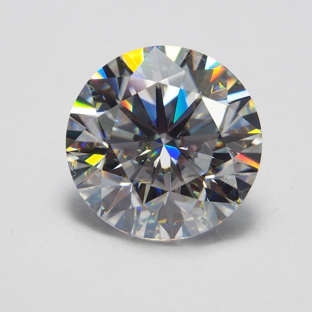 7mm DEF rond blanc Moissanite pierre en vrac Moissanite diamant 1.2 carat pour bague - 4