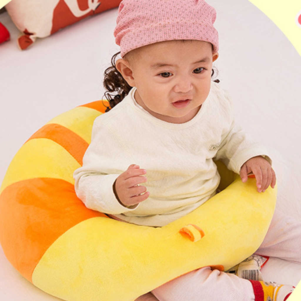 sit up chair for babies ikea childrens chairs detail feedback questions about baby infant support seat soft learn sitting back cushion sofa plush pillow toy