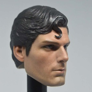 Image 2 - Mnotht Toy 1/6 Scale DC Superman Clark Kent Head Sculpt For Hot Toys Body action figure toys collections