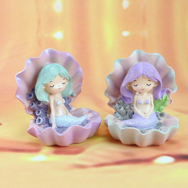 Mermaid Figurine Birthday Cake Topper