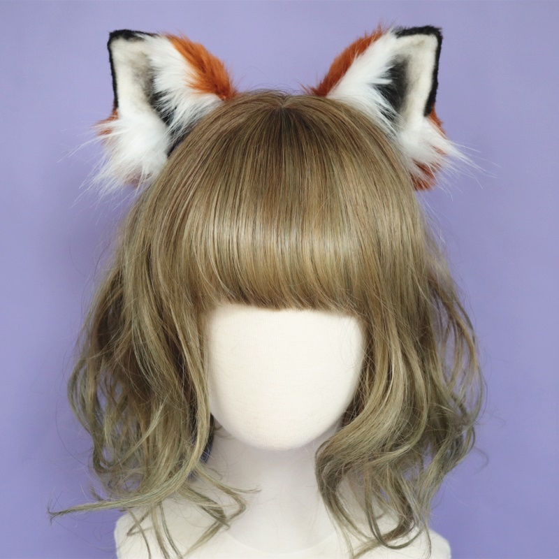 New Zootopia Zootropolis cosplay accessories Nick Ears fox ear Hair Hoop Headwear hand work high quality